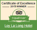 Trip Advisor 2015 Awards